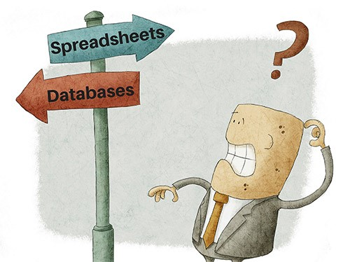 Spreadsheets vs. Databases: How to weigh the Tech Benefits