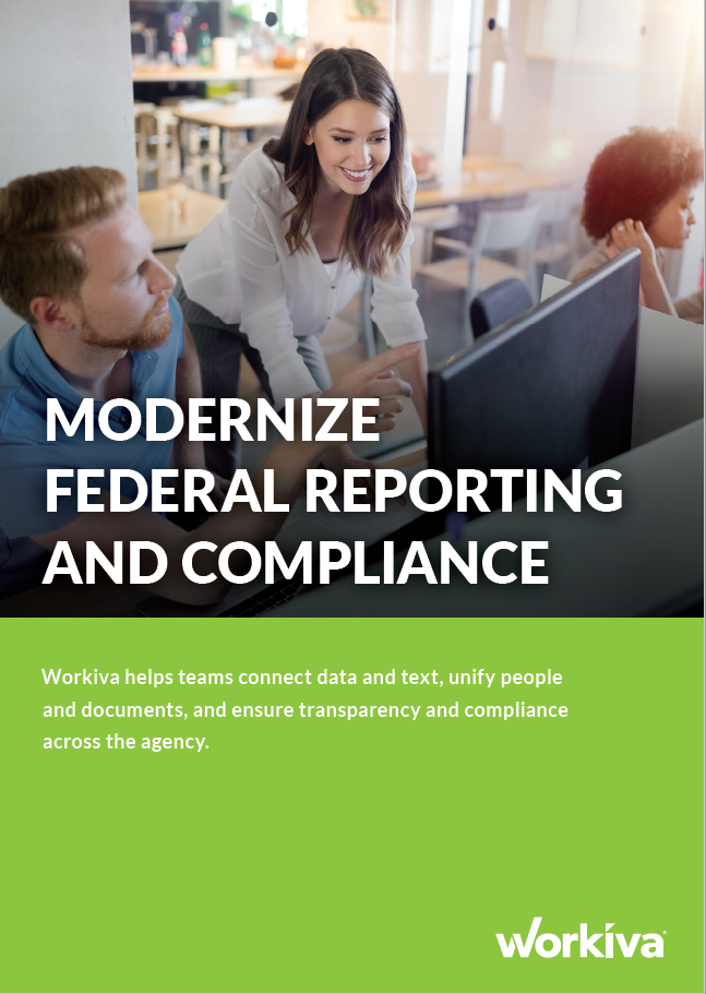 Federal Reporting & Compliance - Resources - Cover Image