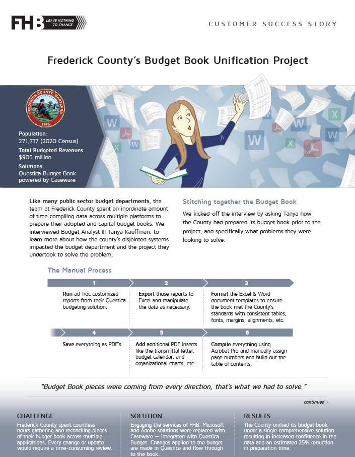 Frederick County - Front Cover - Resources Page