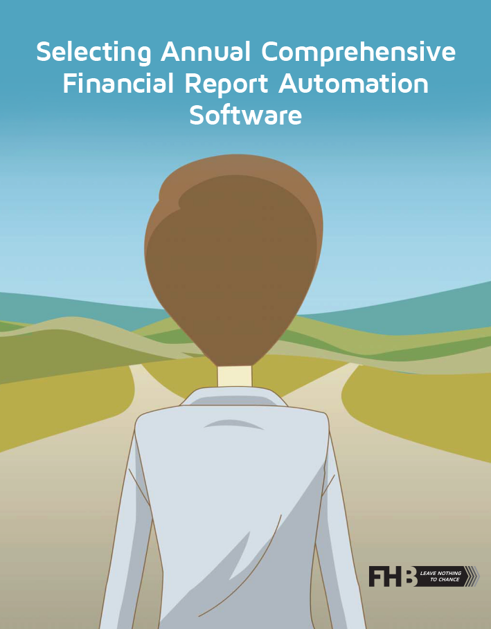Selecting a Comprehensive Annual Financial Report Automation Software eBook Thumbnail Resources page