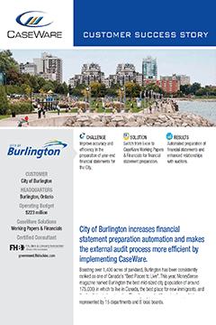 City of Burlington Success Story