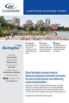 City of Burlington Success Story
