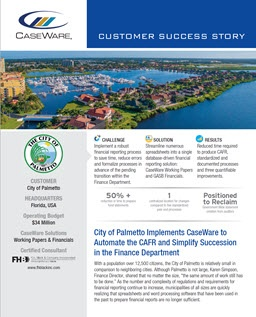 City of Palmetto Success Story