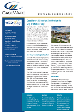 City of Thunder Bay Success Story