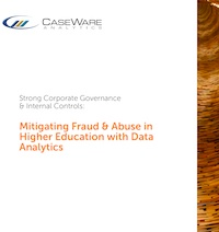 Mitigating Fraud & Abuse in Higher Education with Data Analytics